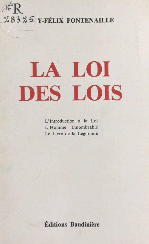 La Loi des Lois