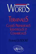 Words Terminales Et Classes Preparatoires