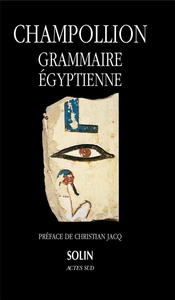 Grammaire Egyptienne