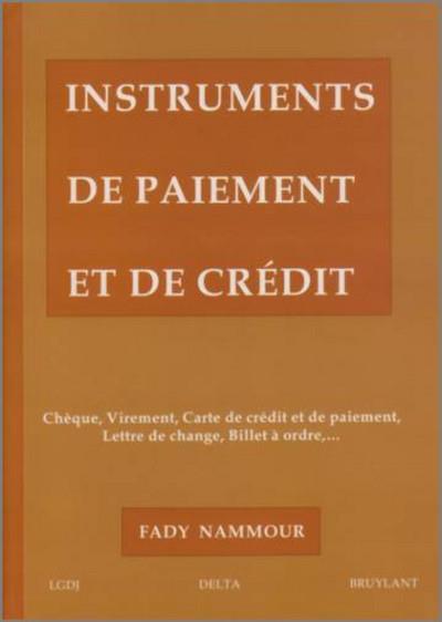 Instruments De Paiement Et De Credit