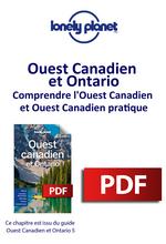 Ouest Canadien et Ontario - Comprendre l'Ouest Canadien et Ouest Canadien pratique  - LONELY PLANET ENG