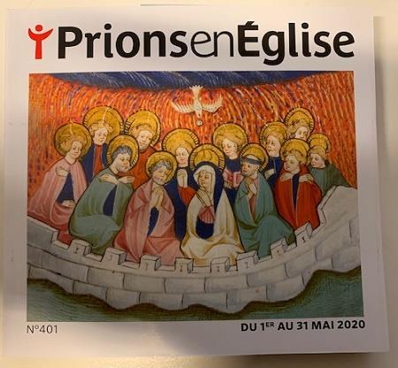 Prions en eglise n.401 ; mai 2020