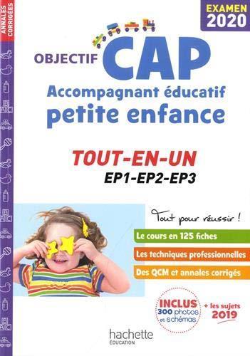 OBJECTIF CAP  -  ACCOMPAGNANT EDUCATIF PETITE ENFANCE  -  TOU-EN-UN, EP1, EP2, EP3 (EDITION 2020) LUCIANI/MARTINEZ