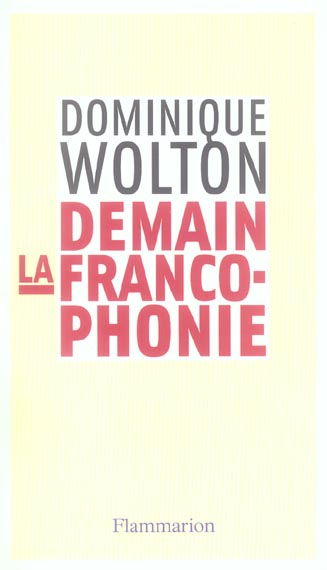 Demain la francophonie