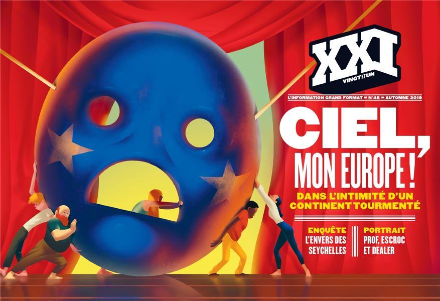 REVUE XXI N.48  -  CIEL, MON EUROPE ! REVUE XXI