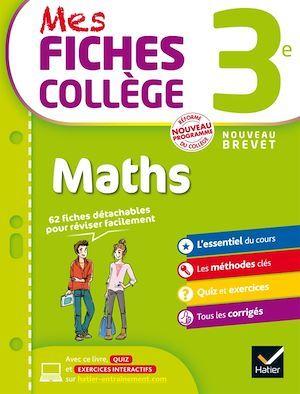 MES FICHES COLLEGE ; maths ; 3ème