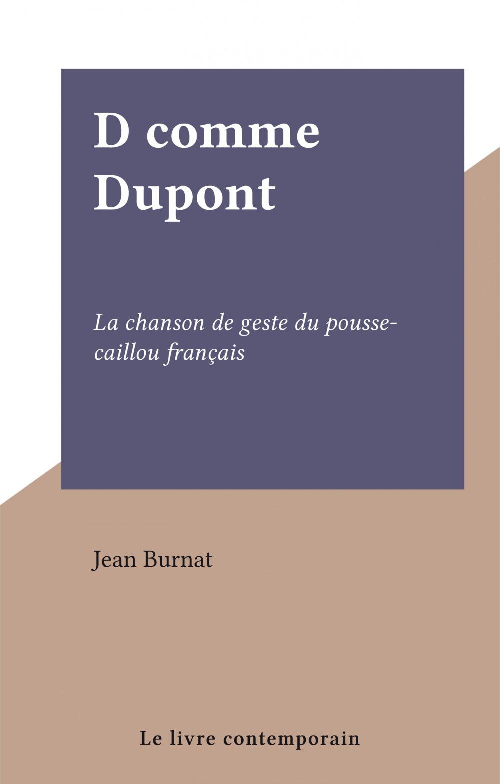 D comme Dupont