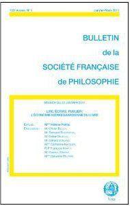 BULLETIN DE LA SOCIETE FRANCAISE DE PHILOSOPHIE t.1 ; lire, écrire, publier ; l'économie kierkegaardienne du livre