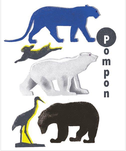 Livre pop up Pompon