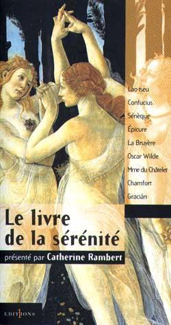 Le livre de la serenite