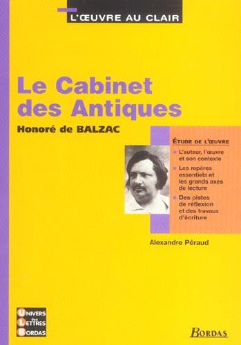 Le cabinet des antiques