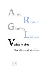 Vente EBooks : Vulnérables  - Alain Renaut - Geoffroy Lauvau