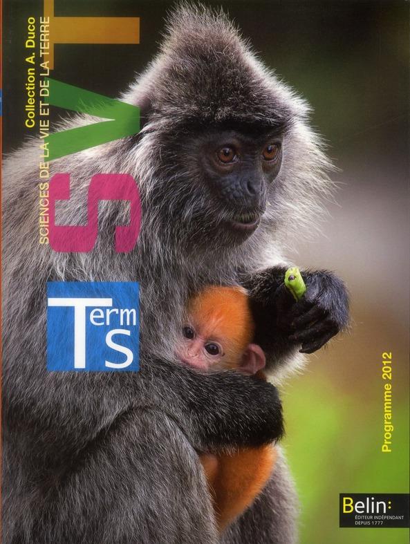 Svt ; Terminale S, Enseignement Obligatoire ; Manuel De L'Eleve
