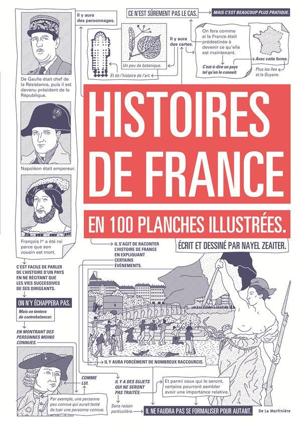 Histoires de France ; en 100 planches illustrées