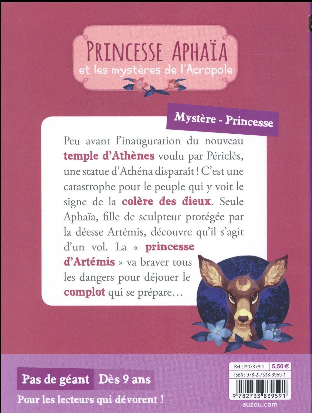 Princesse Aphaïa et les mystères de l'Acropole