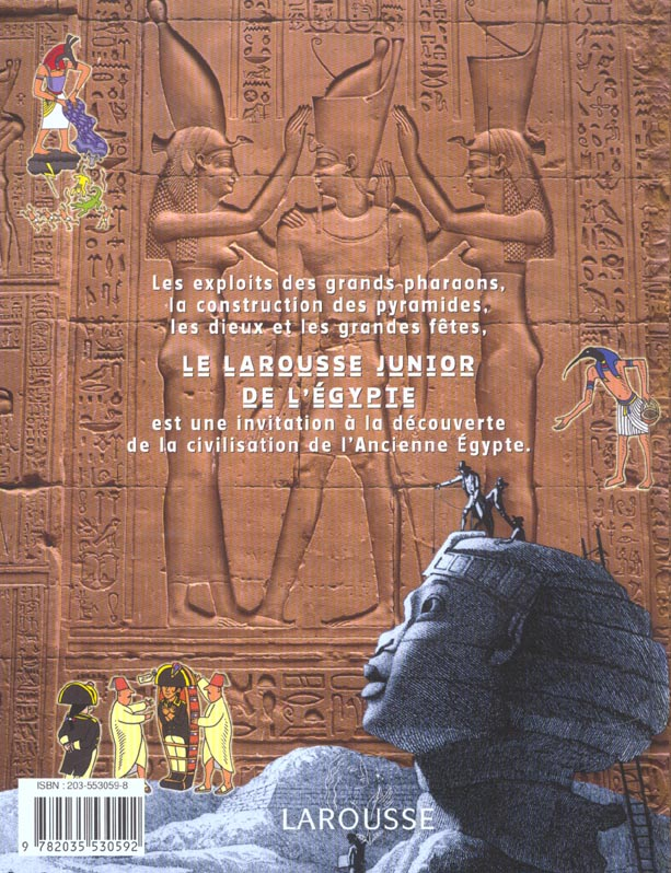 Larousse junior de l'egypte
