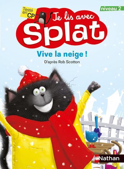 Je lis avec Splat ; vive la neige ! niveau 2