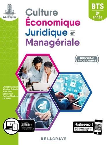 Culture économique, juridique et managériale ; BTS SAM, GPME, NDRC ; 2e année ; pochette élève (édition 2019)