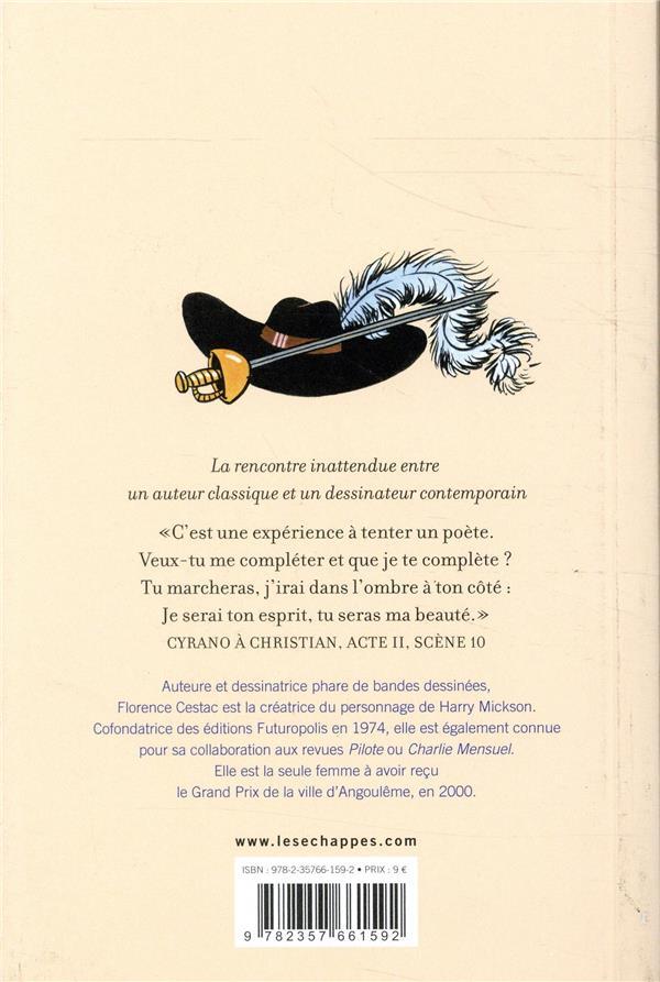 Cyrano de Bergerac illustré par Florence Cestac