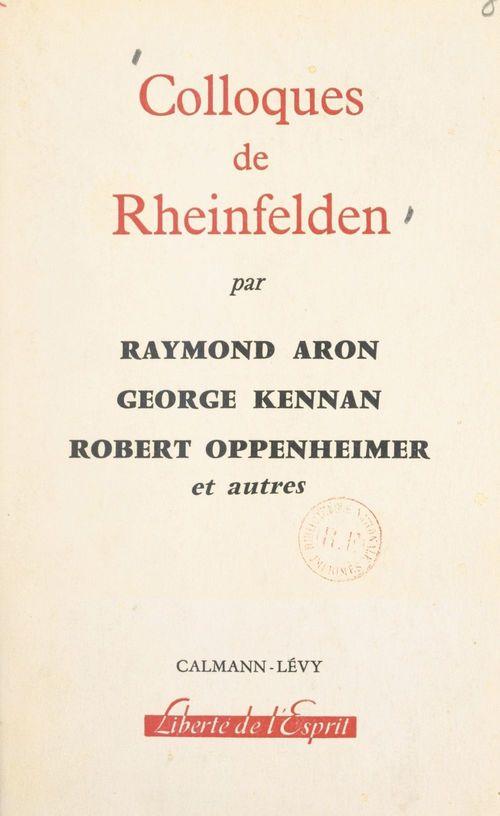 Colloques de Rheinfelden