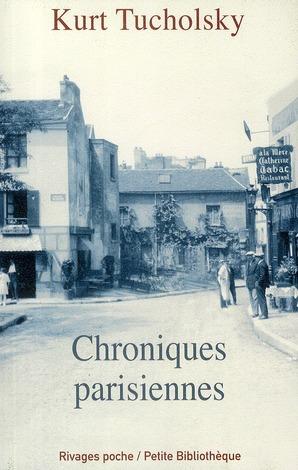 Chroniques parisiennes