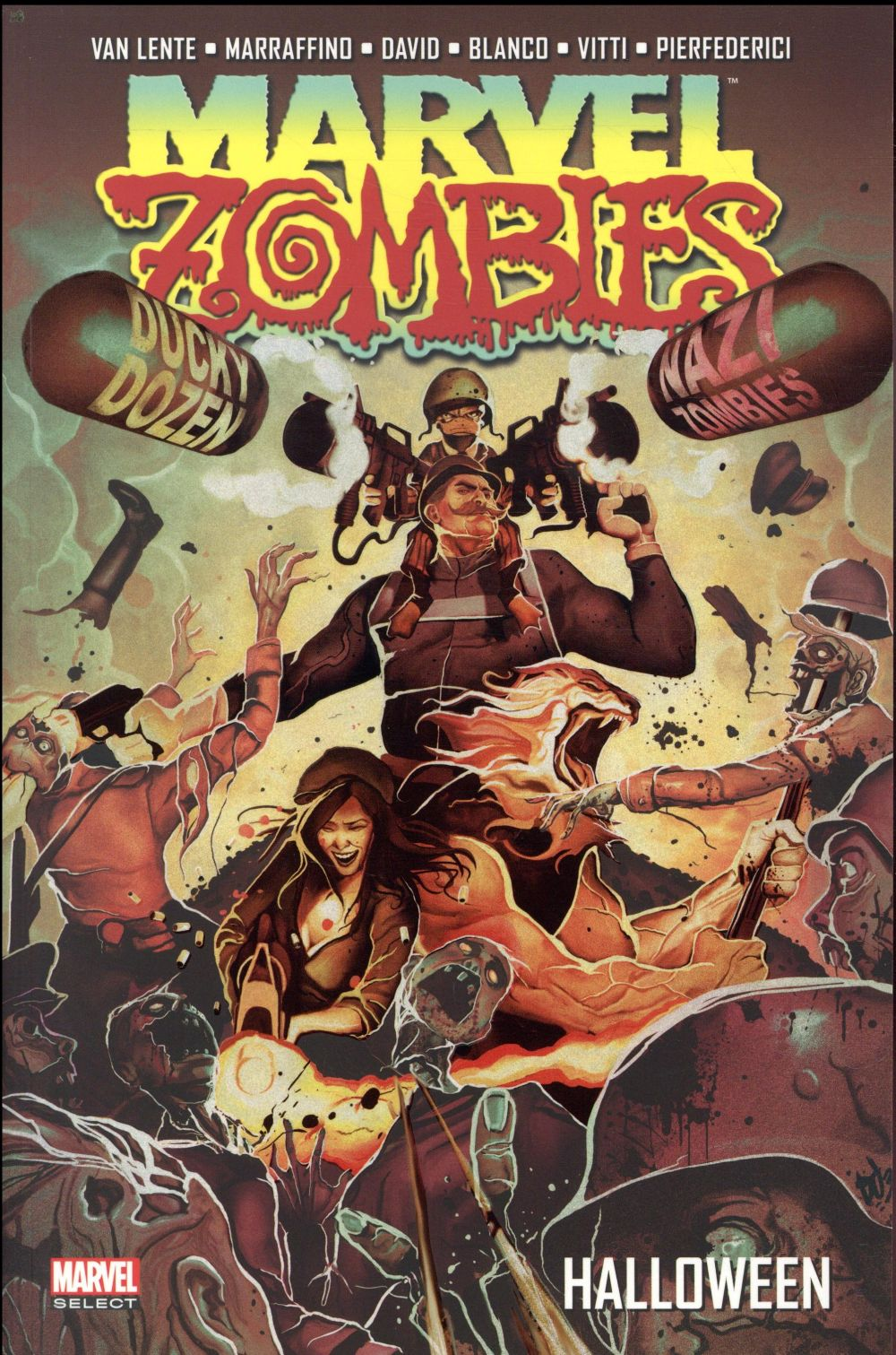 MARVEL ZOMBIES T.4  -  HALLOWEEN  MARRAFFINO, FRANKLIN