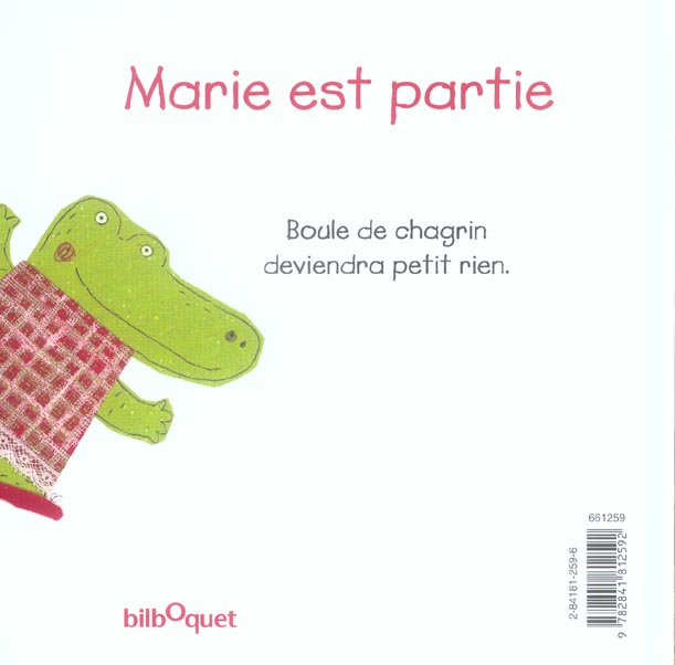 Marie est partie (édition 2006)