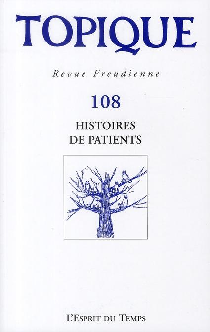 Histoires de patients