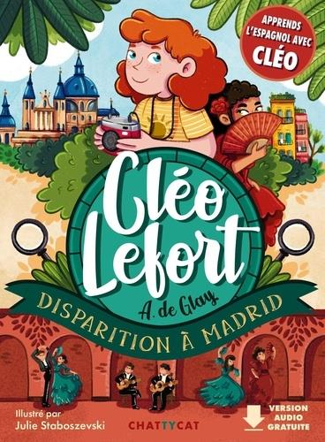 CLEO LEFORT  -  DISPARITION A MADRID