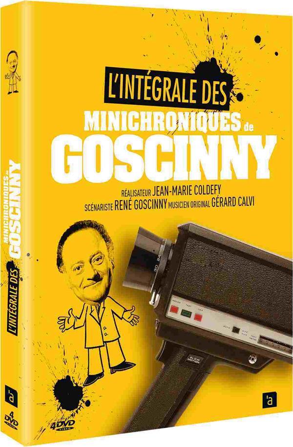 coffret intégrale les minichroniques de Goscinny