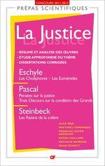 La Justice  - Alice Beja - Matthieu Fernandez - François-Xavier Hervöuet - Nathalie Raybaud - Maud Schmitt - Raïssa Maillard