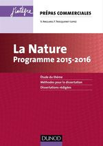 La Nature - Programme 2015-2016  - Veronique Anglard