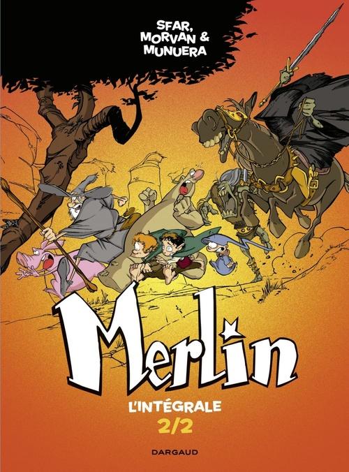 Merlin ; INTEGRALE VOL.2 ; T.4 A T.6
