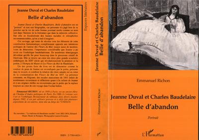 Jeanne duval et charles baudelaire belle d'abandon