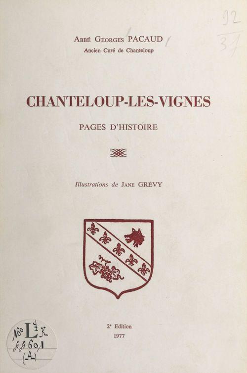 Chanteloup-les-Vignes  - Georges Pacaud