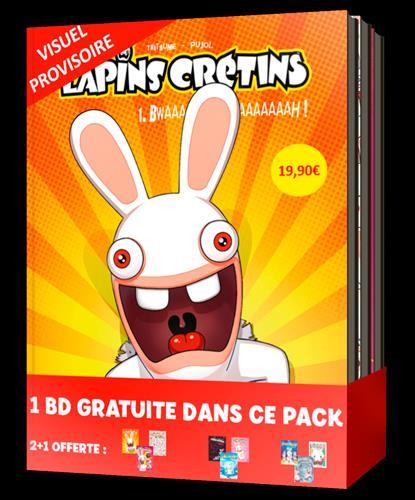 The Lapins Crétins ; COFFRET VOL.1 ; T.1 A T.3