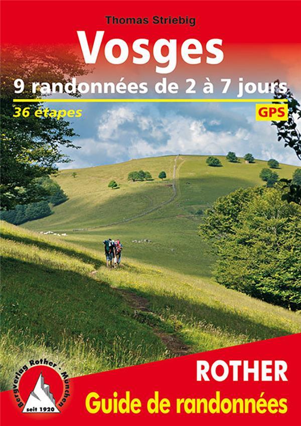 Vosge ; 9 randonnées de 2 à 7 jours