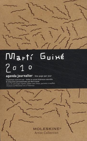 Agenda journalier 2010