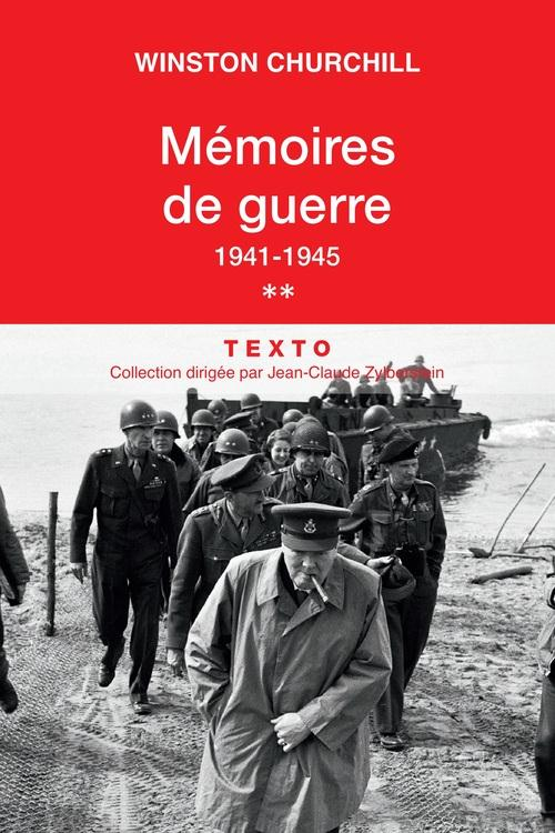 Churchill Winston - MEMOIRES DE GUERRE T.2  -  1941-1945