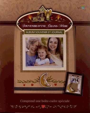 souvenirs d'une grand-mère, album souvenir et journal ; coffret
