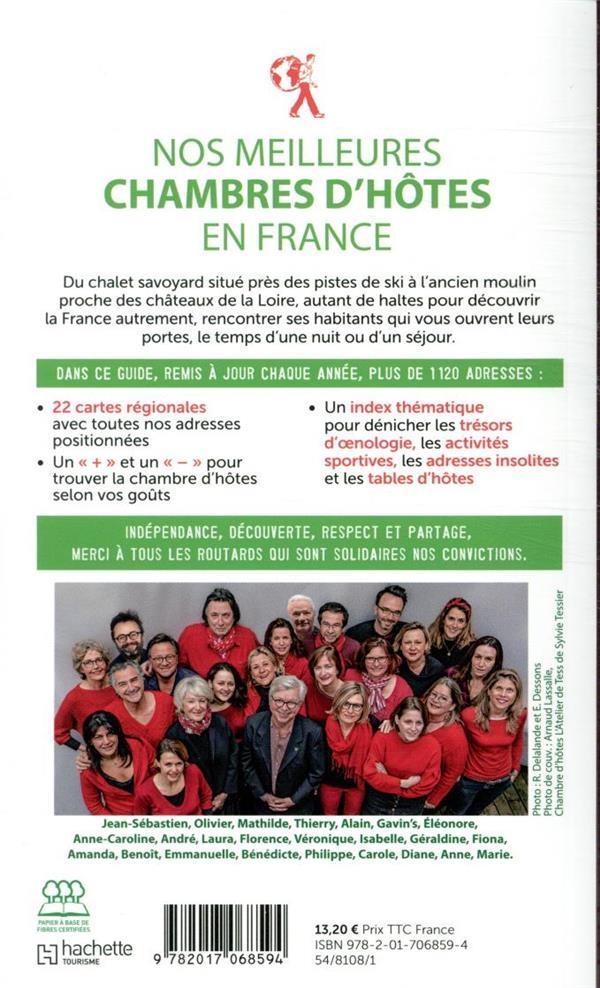 Guide du Routard ; nos meilleures chambres d'hôtes en France (édition 2020)
