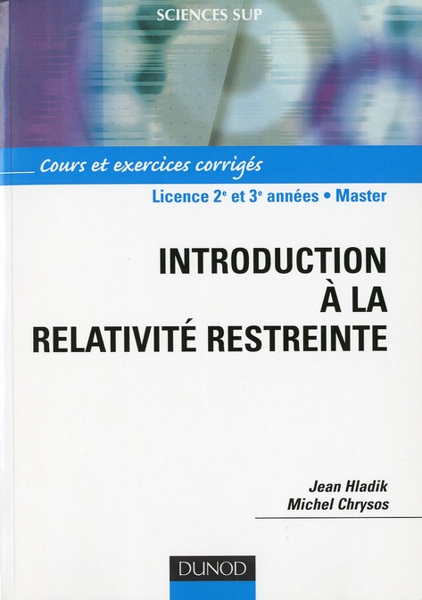 Introduction A La Relativite Restreinte