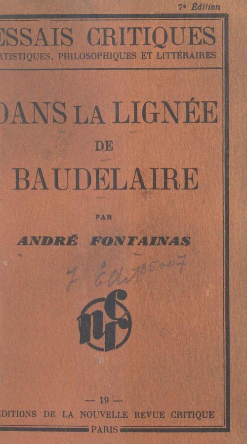 Dans la lignée de Baudelaire