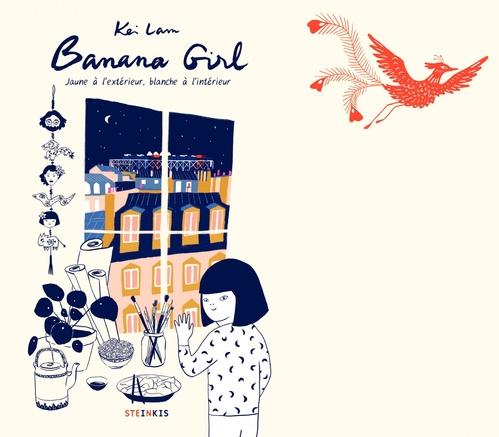 Banana girl ; jaune à l'extérieur, blanche à l'intérieur