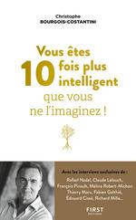 Vente EBooks : Vous êtes 10 fois plus intelligent que vous ne l'imaginez !  - Christophe BOURGOIS-COSTANTINI
