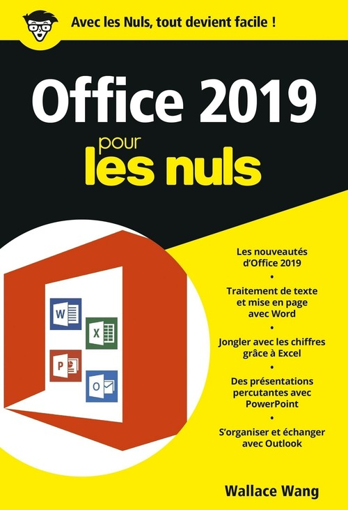 Office 2019 pour les Nuls, poche - Word, Excel, PowerPoint et Outlook