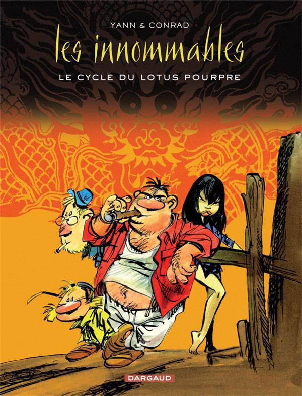 Les Innommables ; INTEGRALE VOL.4 ; le cycle du lotus pourpre