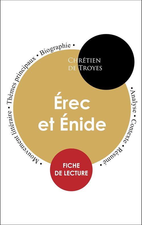 Étude intégrale : Érec et Énide (fiche de lecture, analyse et résumé)