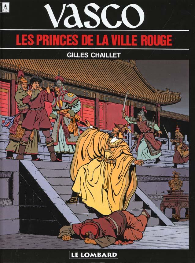 Vasco t.12 ; les princes de la ville rouge