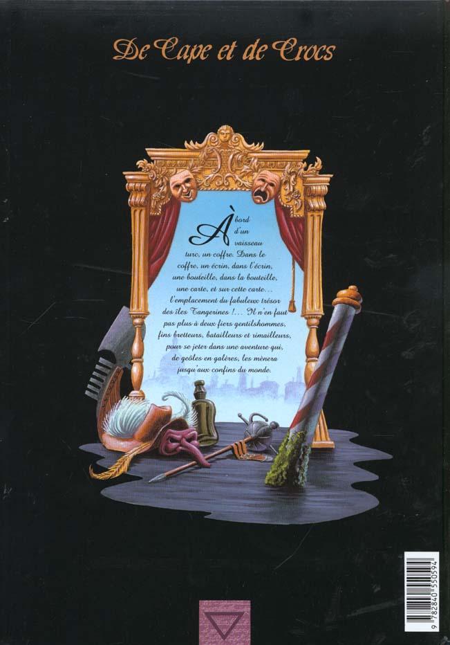 De cape et de crocs t.1 ; le secret du Janissaire